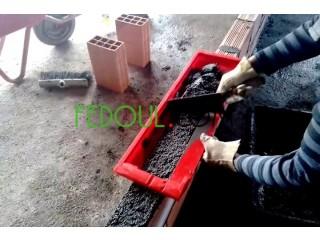 Nouveau outil pour briques reglable 8 et 12 trous