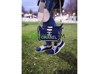 حذاء مع حقيبة