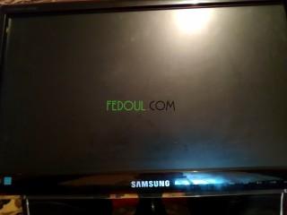 Unité centrale et écran Samsung LED