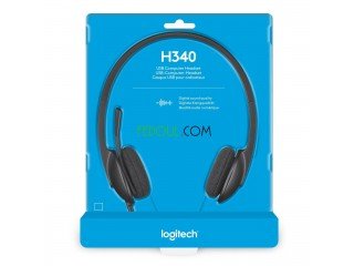 Casque Logitech USB Headset H340.