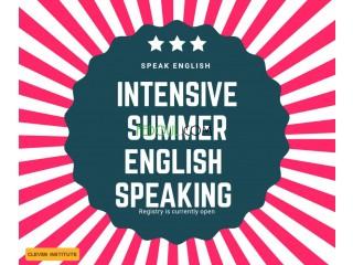 CLEVER INSTITUTE : speaking class