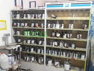 Laboratoire de peinture auto