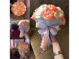 Bouquets de fleurs pour la mariée