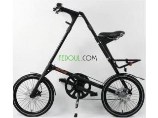 Vélo STRIDA EVO 3 Noir En Excellent Etat