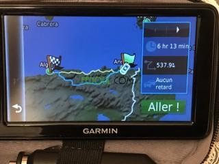 GPS GARMIN NUVI 2595LM, Grand Ecran Tactile de 5 Pouces