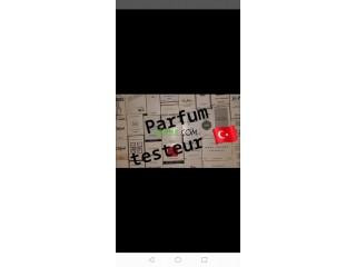 Parfum TESTEUR de turk très bonne qualité